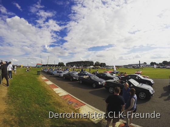 CLKs  Silverstone UK Renn tag. Juli 31