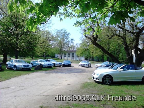 Ausfahrt in den Rheingau mit dem SL-Club Bischofsheim, hier > auf dem Felsen der loreley