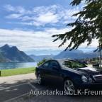 Ausflug mit CLK430: Beckenried am Vierwaldstättersee