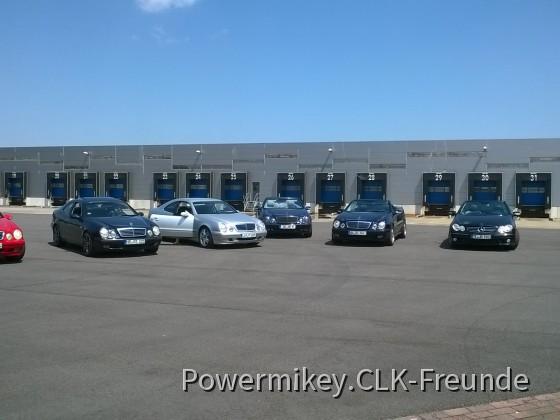 5. Treffen der CLK-Freunde in Emsbüren am 05.06.2016