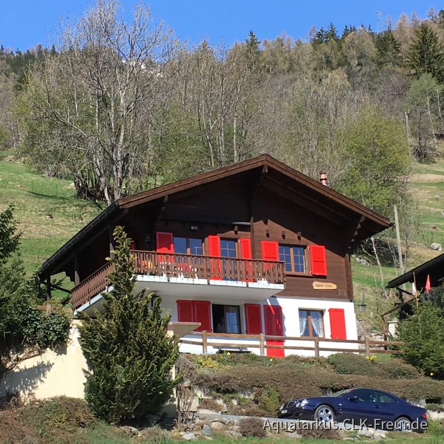 CLK 430 Urlaub in den Bergen