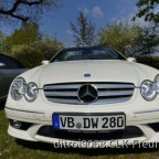 "mein CLK 300 Cabrio ""Grand Edition"" in brilliant-weiß, metallic Bright"