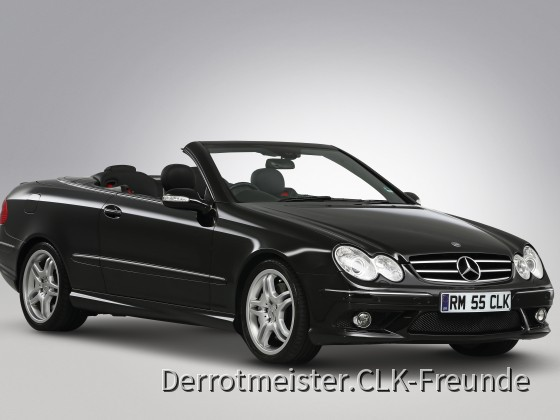 CLK 55 Photo shoot London